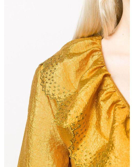 Stine Goya Metallic Steffi Dress