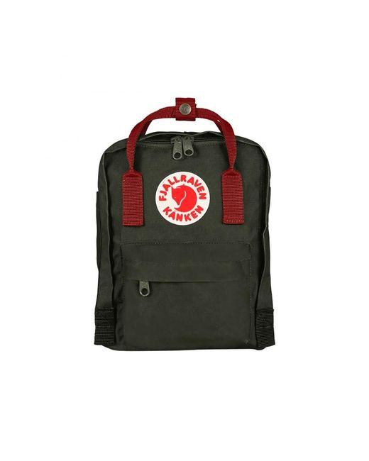 Fjallraven Kanken Mini Backpack (Forest Green Ox Red)