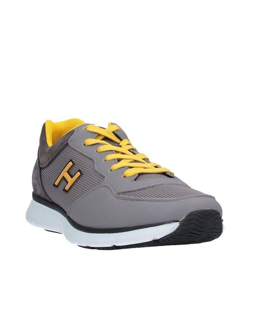 Hogan Leather H254 H Flock Sneakers for Men - Save 35% - Lyst