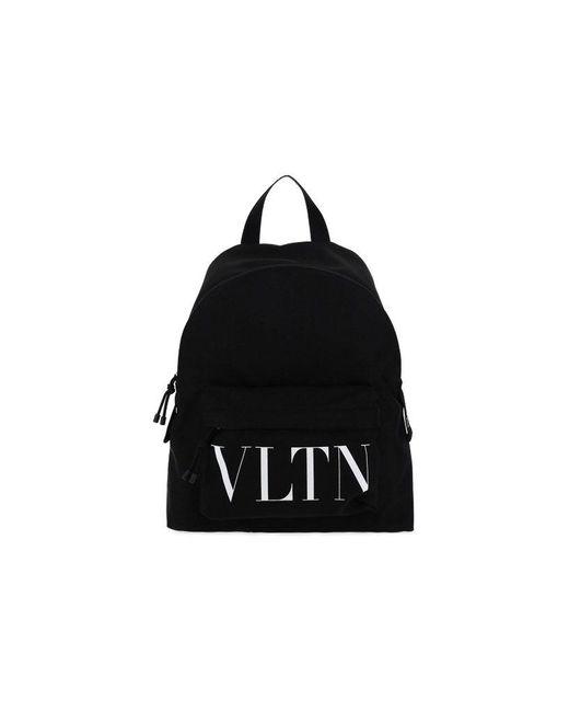 Valentino Garavani Men's Vy2b0993yhs0ni Black Other Materials Backpack for men