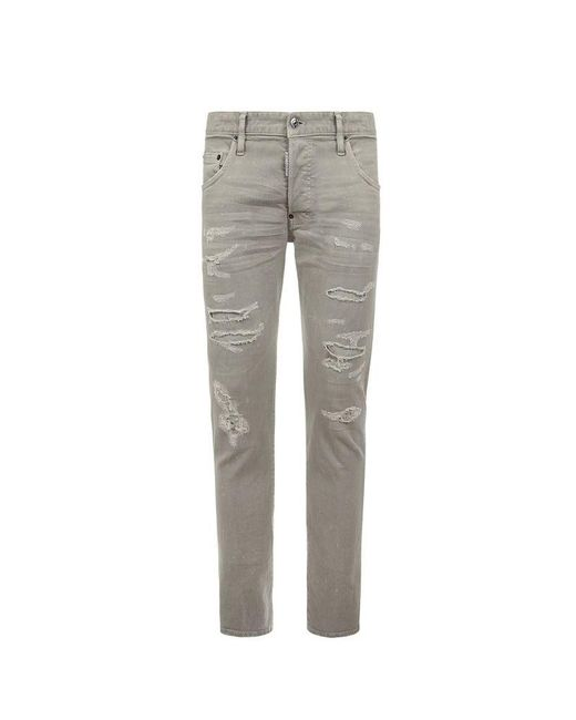 DSquared² Gray Trousers for men