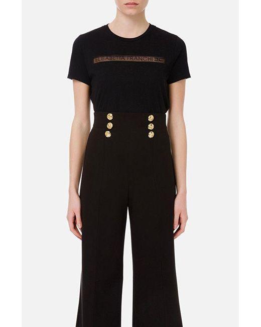 Elisabetta Franchi Sweaters Black