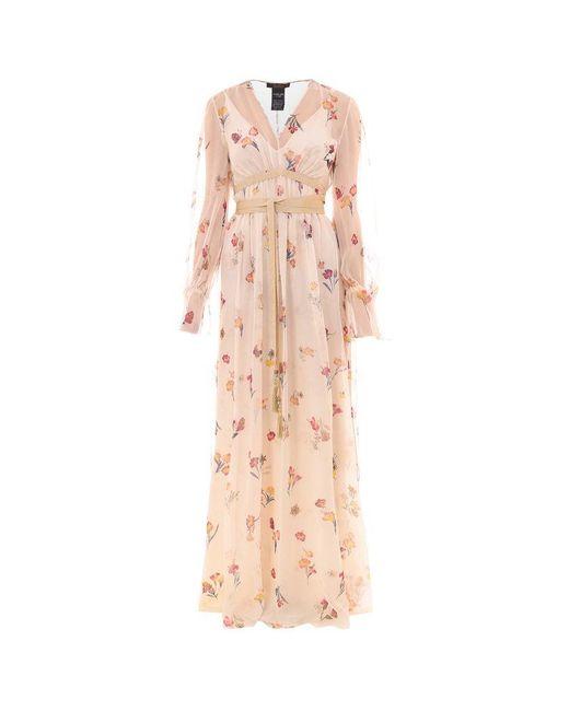 Max Mara Pink Silk Dress