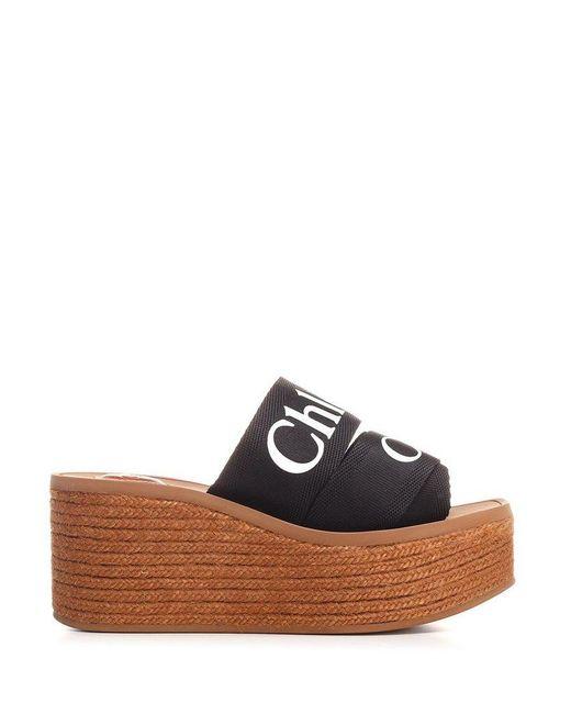 Chloé Chlo㉠Women's Chc21u44908001 Black Other Materials Sandals