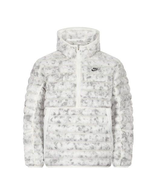 Nike White Sportswear Marble Ecodown Jacket for men