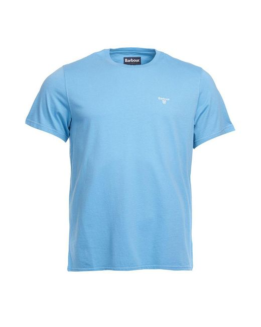Barbour Sports T-shirt Blue for men
