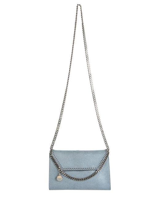 Stella McCartney Blue Mini Falabella Bag