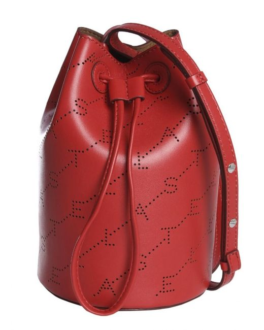 Stella McCartney Red Monogram Bag