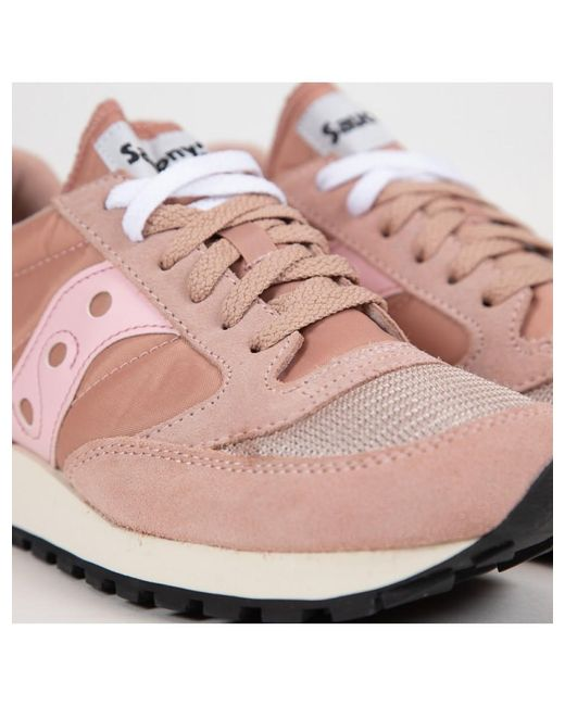 new concept c0e83 cc430 Women's Jazz Vintage Rose Pink Sneakers