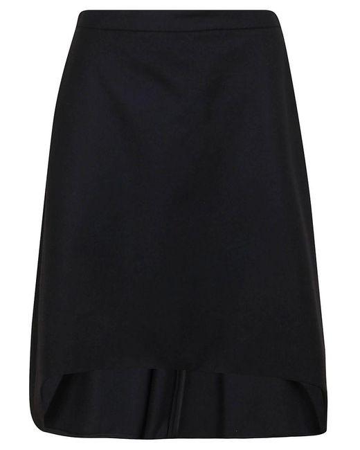 McQ Alexander McQueen Mcq By Alexander Mcqueen Women's 639987qjaan1000 Black Wool Skirt