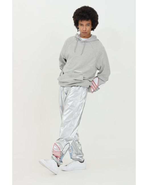 Adidas Metallic Adicolor Tricolor Trousers With Elastic Waistband for men