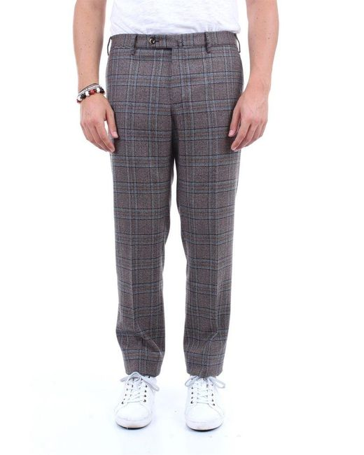 PT Torino Trousers Chino Men Dark Brown Fantasy for men