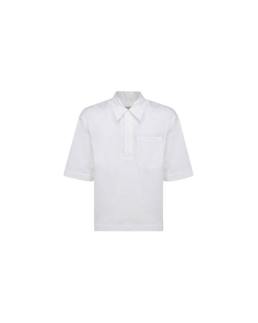 Valentino Men's Vv3aab8077c001 White Other Materials Shirt for men