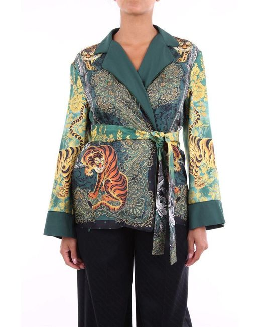 F.R.S For Restless Sleepers F.r.s Jackets Shawl Women Fancy Greenfinch