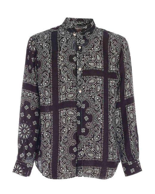 Mc2 Saint Barth Black Klarke Shirt for men