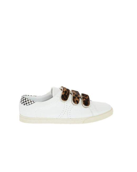 Céline Cã‰line Men's 334923268c01lo White Leather Sneakers for men