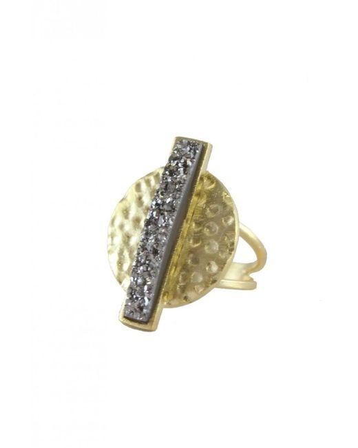 Marcia Moran Metallic Women's Gan168 Sara Ring