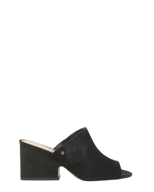 Sam Edelman Women's F5794l1001black Black Suede Sandals