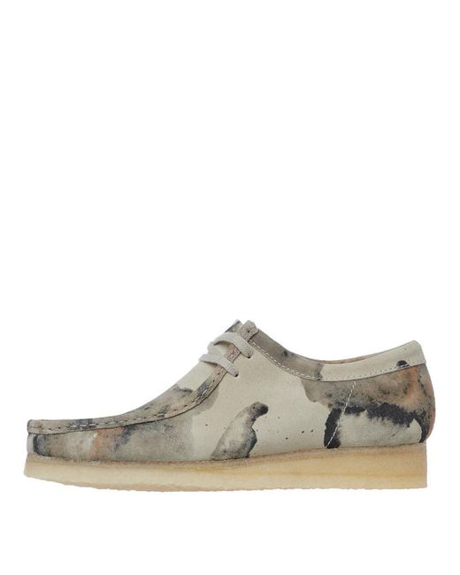 Clarks White Wallabee Shoes for men