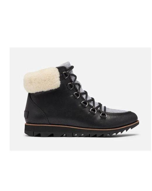 Sorel Harlowtm Lace Cozy Black Boots