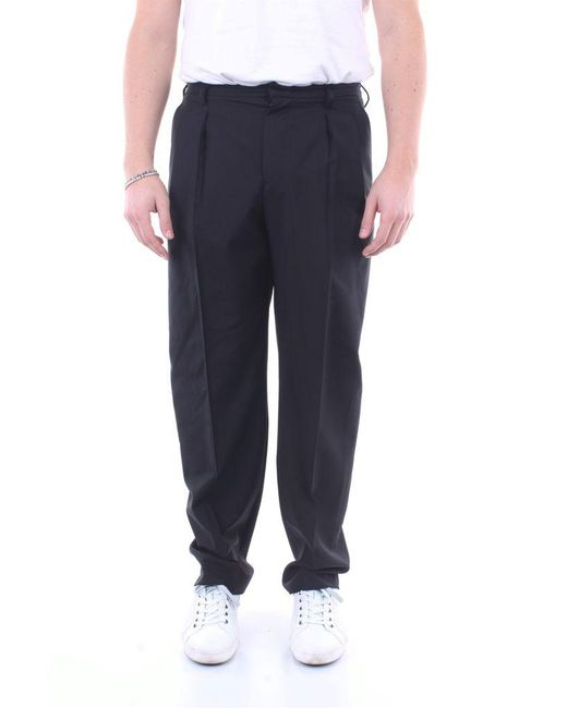 Valentino Trousers Elegant Men Black for men