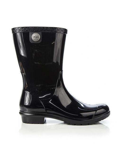 Ugg - Black Women's Sienna Wellington Boots ...