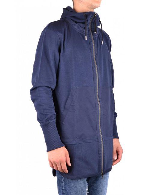 DIESEL - Blue Sweatshirt for Men - Lyst