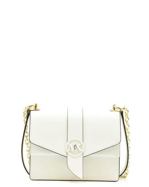 MICHAEL Michael Kors White Shoulder Bags