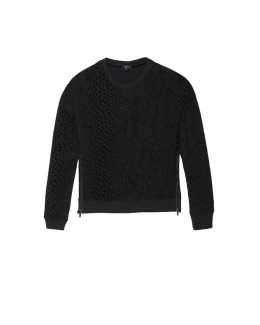 Rails Black Marlo Sweatshirt