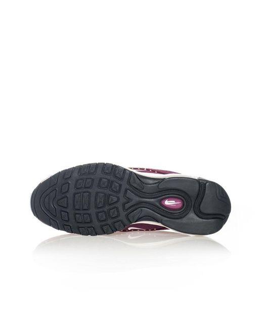 Nike Sneakers Donna Air Max 97 Se Aq4137.600 in Burgundy (Purple ...