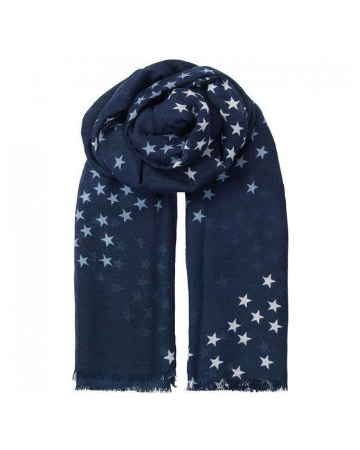Becksöndergaard - Blue Infinite Stars Scarf - Lyst