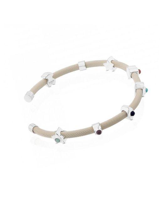 Tous - Metallic Bracelet In Gold - Lyst