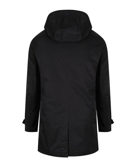 Ted Baker - Black Men's Stack 3-in-1 Hooded Coat And Quilted Gilet for Men - Lyst