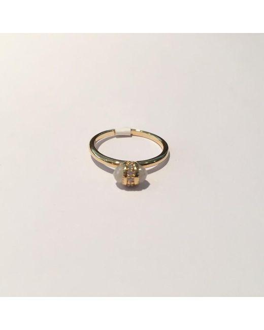 Tai | Metallic Mini Stone Ring | Lyst