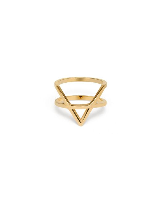 AUrate New York | Icon Ring Yellow Gold | Lyst