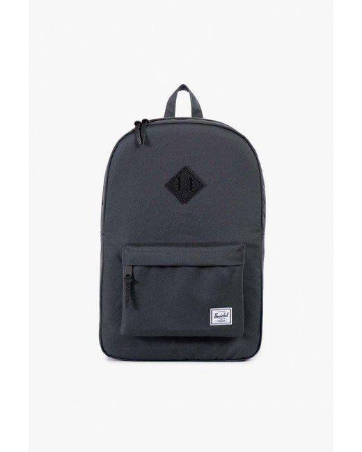 Herschel Supply Co. | Black Heritage Canvas Backpack | Lyst