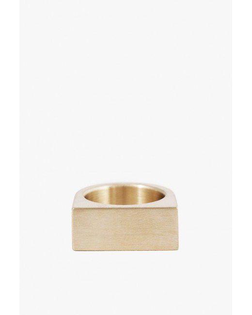 Marmol Radziner - Natural Short Slab Ring for Men - Lyst