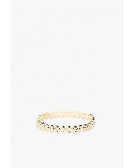 Grace Lee   Metallic Beaded Crown Ring   Lyst