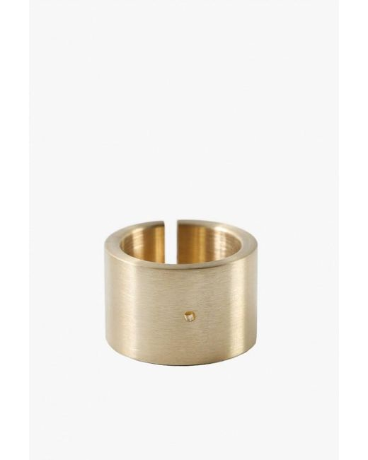 Marmol Radziner | Natural Heavyweight Cut Double Wide Ring - 10 | Lyst