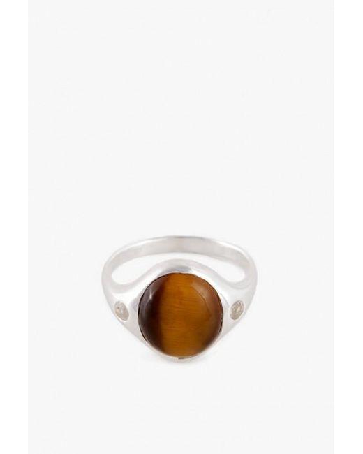 Pamela Love | Metallic Sterling Silver Essential Ring | Lyst