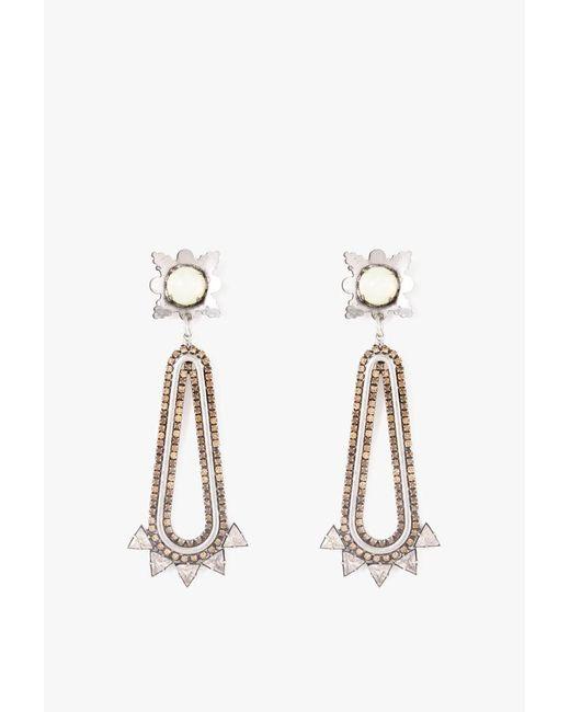 Nicole Romano | Metallic Claiborne Earrings | Lyst