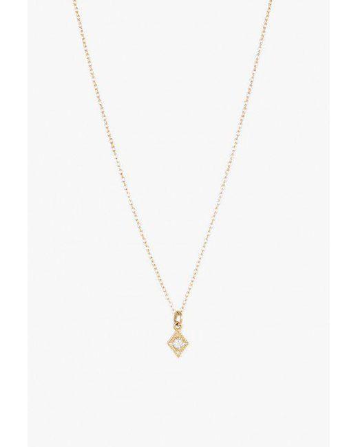 Lumo | Metallic Ava Opal Necklace | Lyst
