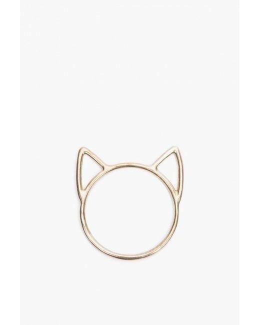 Catbird | Metallic Lovecat Ring | Lyst