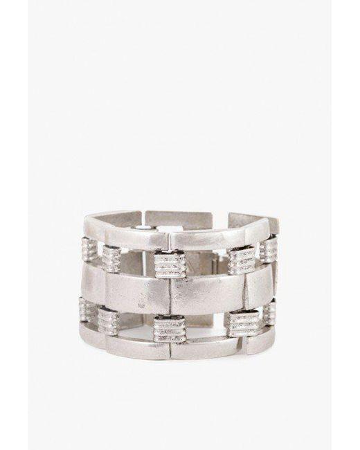 Nicole Romano - Metallic Bannister Bracelet - Lyst
