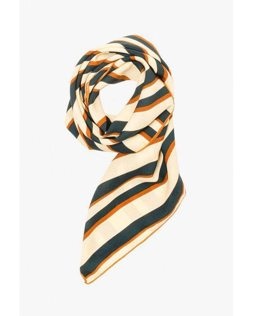 Azalea - Multicolor Stripe Neckerchief - Lyst