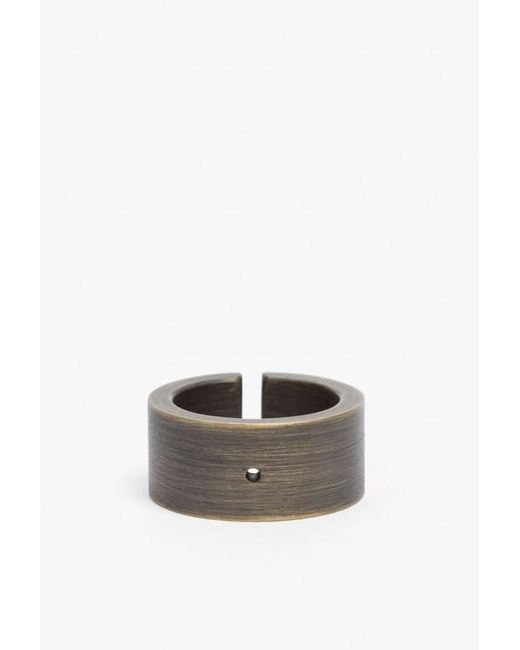 Marmol Radziner | Metallic Heavyweight Wide Cut Ring | Lyst