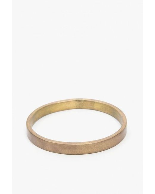 Marmol Radziner | Metallic Elliptical Bangle | Lyst