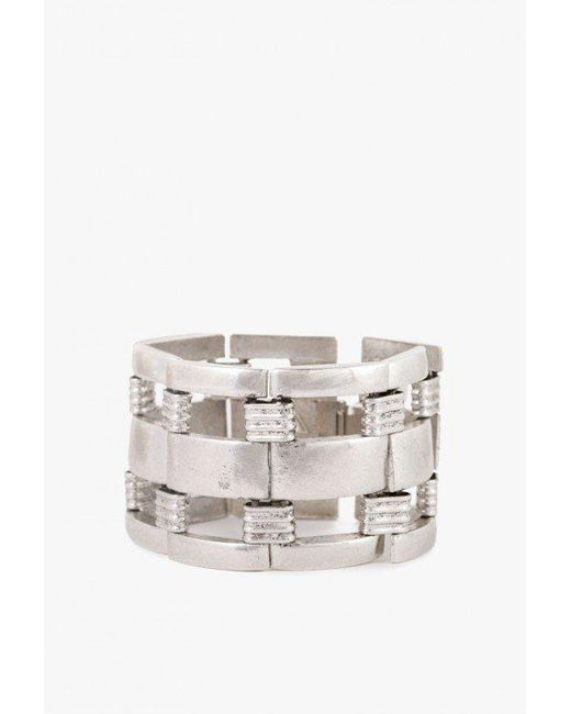 Nicole Romano | Metallic Bannister Bracelet | Lyst