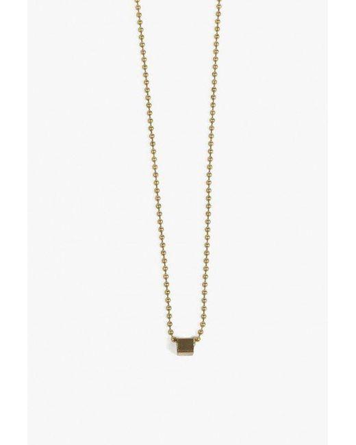 Ak Studio   Metallic Natural Order Necklace   Lyst