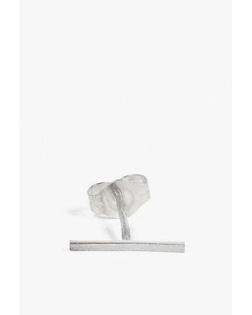 Kathleen Whitaker | Metallic Long Staple Stud - Single | Lyst
